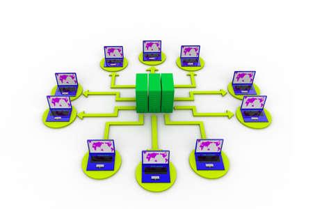Computer network Stock Photo - 8067627