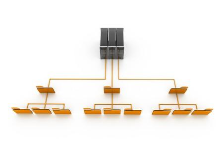 Data network Stock Photo - 8067748