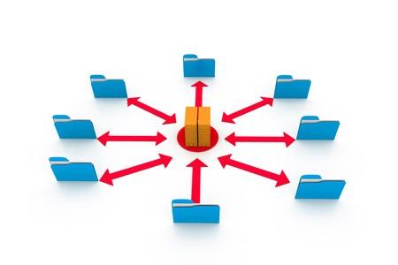 Folder connect a server  photo