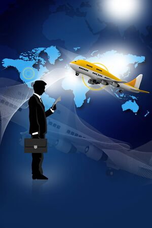 Travelling Business concept design photo