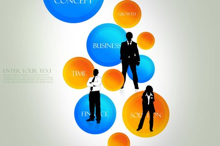 Different business concept Stock Photo - 8154409