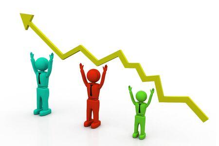 Growth chart Stock Photo - 8268370