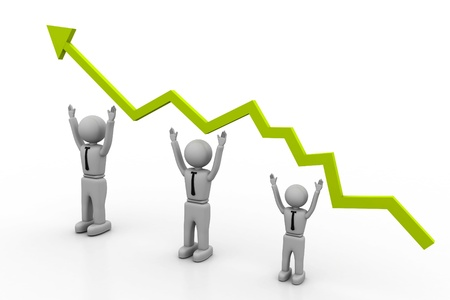 Growth chart Stock Photo - 8268352