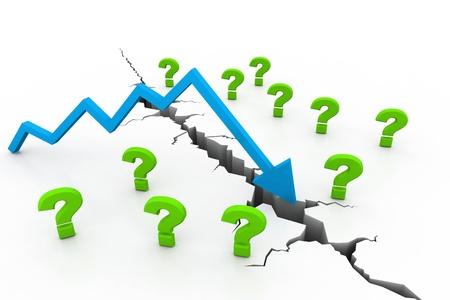 Recession Concept  photo