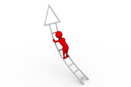 Ladder of success Stock Photo - 8268298