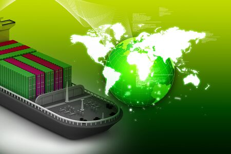 export and import: Actividades de negocio de transporte