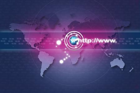 Internet address concept Stock Photo - 8278919