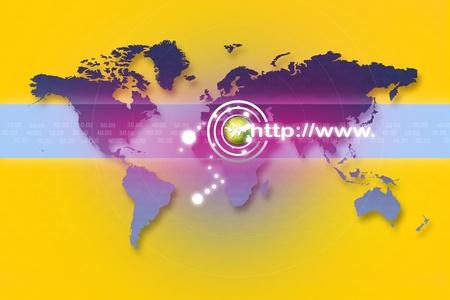 website wide window world write www: Internet address concept Stock Photo