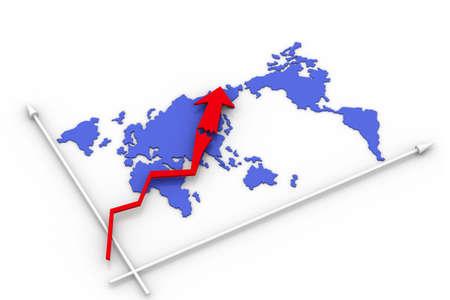 worldmap: statistics - worldmap  Stock Photo