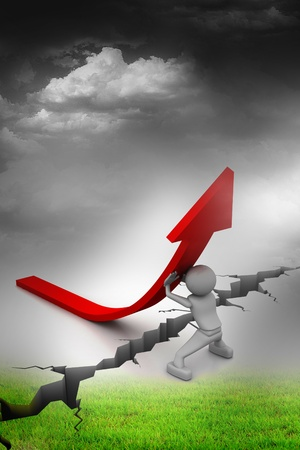 Right business growth solution Stock Photo - 8279017