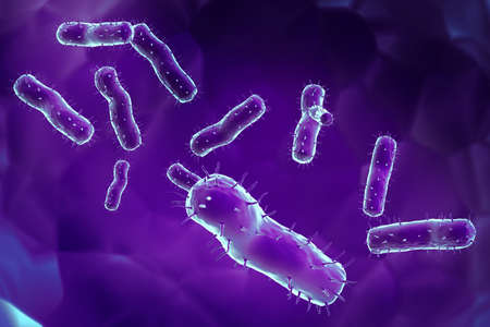Highly rendering of virus in attractive background  photo