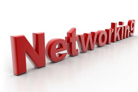 referidos: Altamente representaci�n del concepto de red en fondo blanco