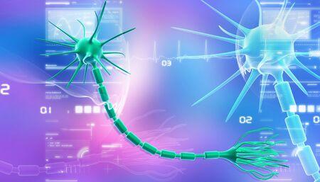neurona: Celda de neurona en dise�o abstracto