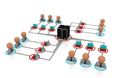 Network server  photo