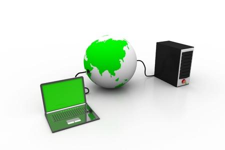 Global computer network Stock Photo - 8959153