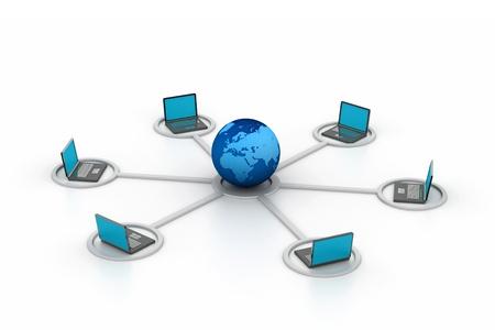 Computer network Stock Photo - 8959330
