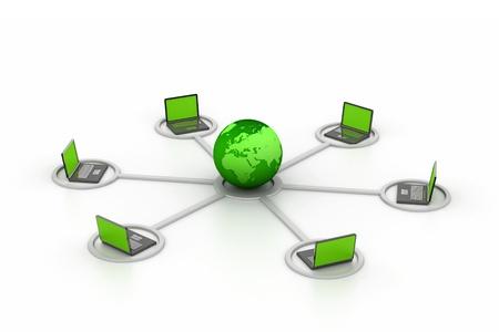 Computer network Stock Photo - 8959322