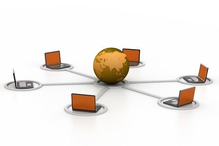 Computer network Stock Photo - 8959392