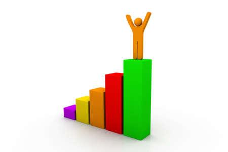 3d Growth chart photo