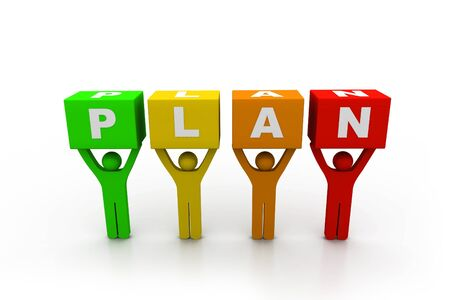 Plan concept Stock Photo - 8959146