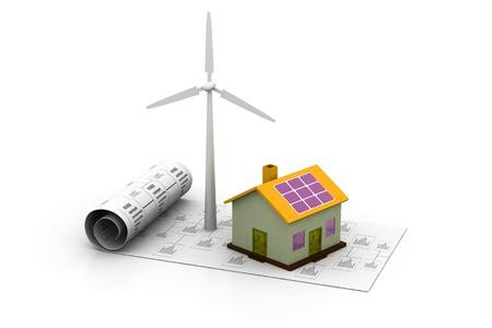 Energy planning Stock Photo - 8959690
