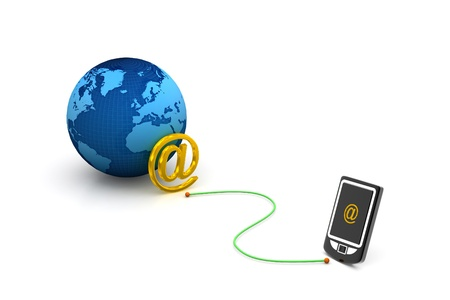 webmail: e-mail on mobile