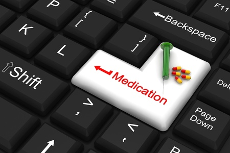 enter key: medication enter key