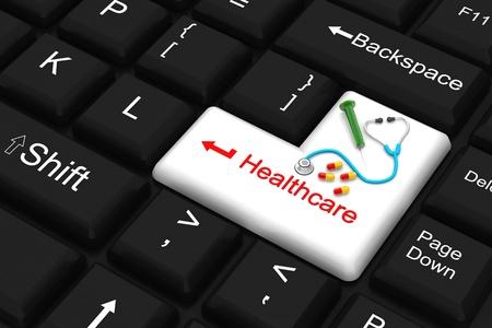enter key: healthcare enter key