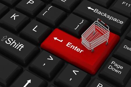 Internet shopping Stock Photo - 8960080