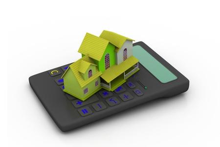 Real estate calculator  photo