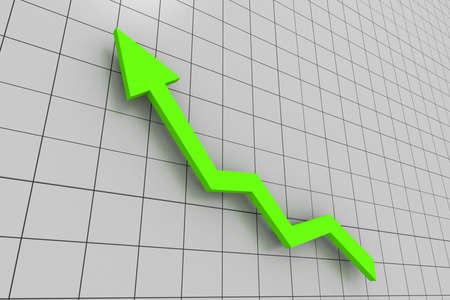 yellow Business graph photo