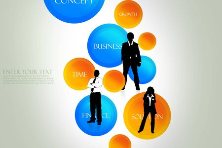 Different business concept  photo