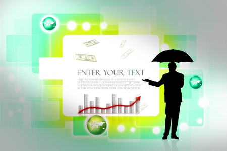 Abstract business background photo