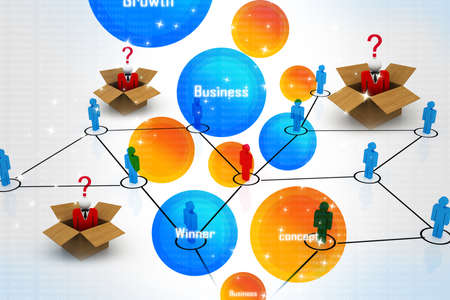 e recruitment: Business network with choices