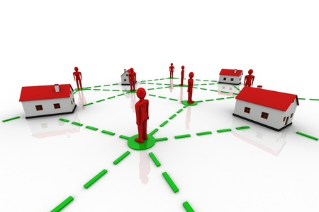 Home Communication concept  photo