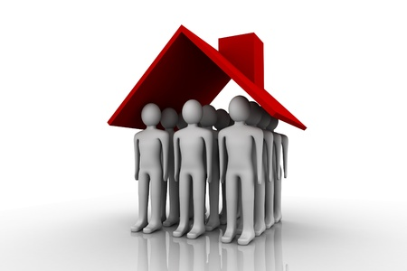 home owner: Home Owner. Concept depicting a man inside home; great for home owner, landlord and real estate