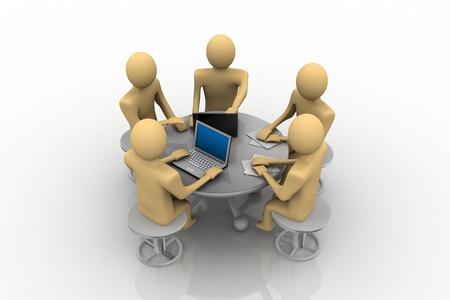 Team meeting Stock Photo - 9242564