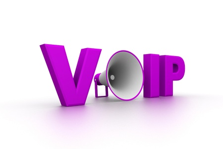 mobile voip: Voice Over IP  Stock Photo