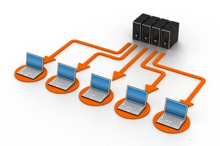 Computer Network Stock Photo - 9254292