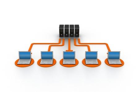 Computer Network Stock Photo - 9254236