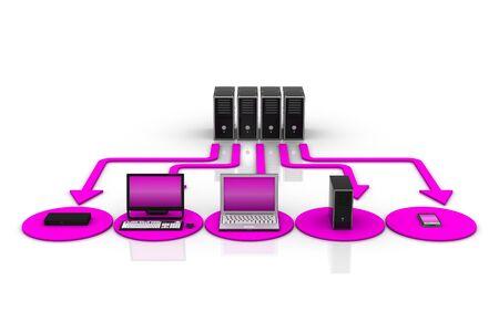 Computer Network Stock Photo - 9254141
