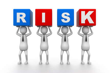 Risk Blocks Stock Photo - 9254385