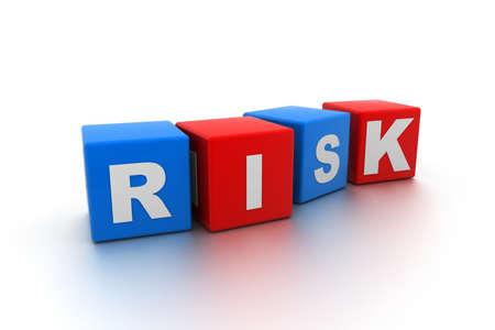 Risk Blocks Stock Photo - 9254403