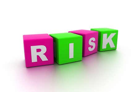 Risk Blocks Stock Photo - 9254418