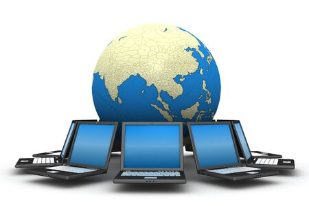 World communication Stock Photo - 9336887