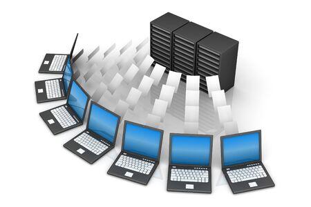 Computer Network Stock Photo - 9336877