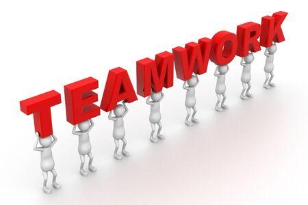 Team work Stock Photo - 9336917