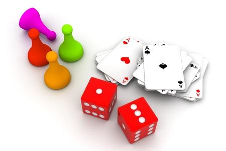 brettspiel: Brettspiel St�cke