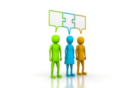 consensus: Three people in consensus