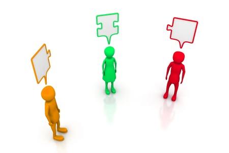 pessoas: People with the same idea